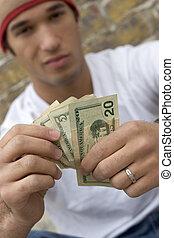 Money Teen Boy