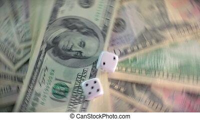 Money that rotates Looping