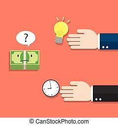 money thinking of choosing
