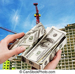 money to buy a new home