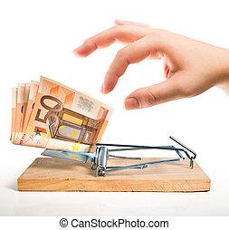 money trap - euro bait
