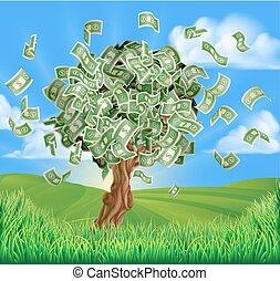 Money Tree Concept