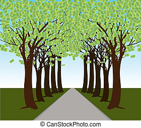 Money Tree Forest Path