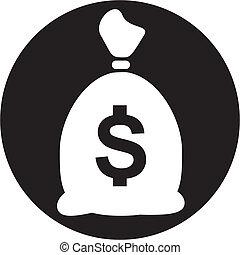 moneybag, icono