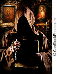 monge, igreja