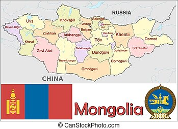 Mongolia administrative divisions - Administrative divisions...