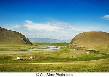 mongolian, ステップ