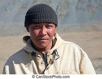 mongolian, 人