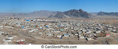 mongolian, 都市, 典型的