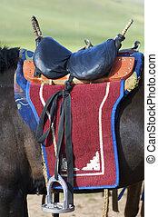 mongolian, 鞍