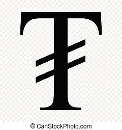 Mongolian tugrik sign. Corona virus vector icon. Template ...