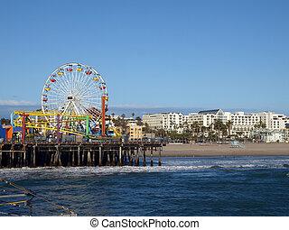 monica, californie, santa