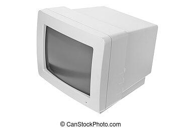 monitor computador, crt