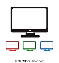 monitor, icona