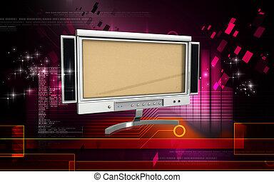 monitor, lcd