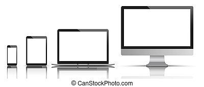 Monitor Notebook Tablet Smartphone Mirror SH