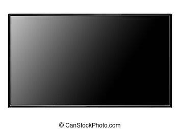 monitor plano pantalla