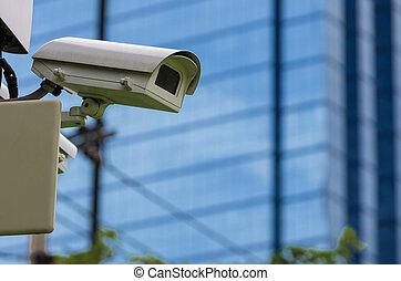 Monitoring security camera
