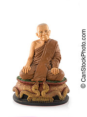 monk from buddism religion