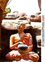 monk in buddhist