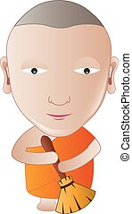 Monk walk