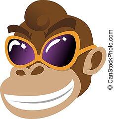 Monkey Ape Head