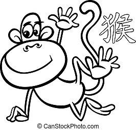 monkey chinese zodiac horoscope sign
