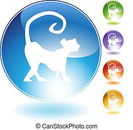 Monkey Crystal Icon