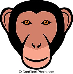 monkey head (ape face)
