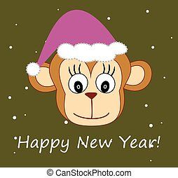 Monkey new year HEAD.eps