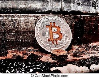 monnaie, argent, bitcoin