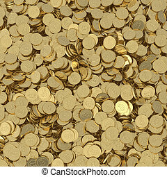 monnaie, bitcoin, numérique, bac, doré