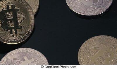 monnaie, concept, électronique, crypto, argent