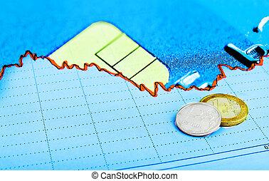 monnaie, concept, marché