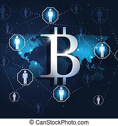 monnaie, crypto, numérique