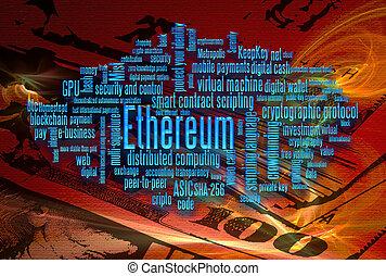 monnaie, ethereum, crypto