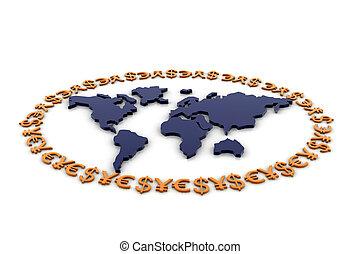 monnaie mondiale