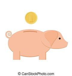 monnaie, piggybank