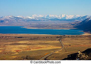 Mono Lake at Eastern Sierra in California