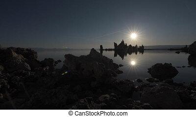 Mono lake at Sunrise Dolly right - Mono Lake Tufa Towers...