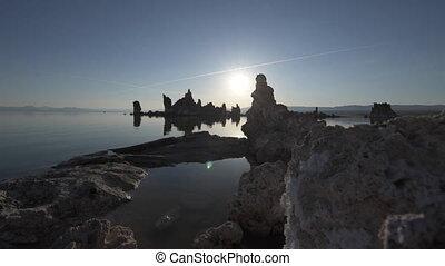 Mono lake at Sunrise Dolly shot raw - Mono Lake Tufa Towers...