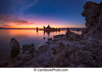 Mono Lake at Sunrise South Tufa