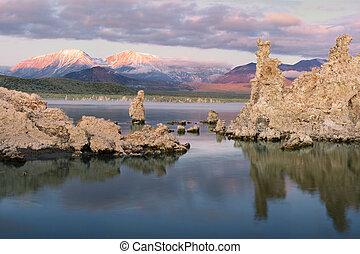 Mono Lake at Sunrise with Tufas