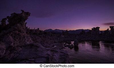 Mono Lake California Tourist Destination - Young Woman...