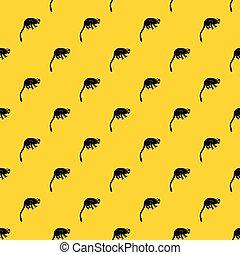 mono tití, patrón, vector, mono