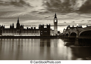 monochrom, big ben, london