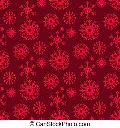 monochrom, seamless, weihnachten, muster