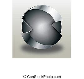 Monochromatic logo
