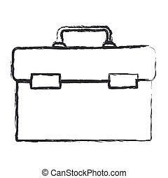 monochrome blurred silhouette of plumbing tool kit vector illustration