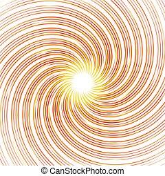 (monochrome), coloridos, experiência., abstratos, pattern., girar, linhas, deformado, radial, redemoinho, rotação, distorcido, espiral